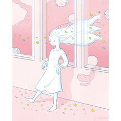 さようなら3月🌸🌸🌸  #illustration #イラスト
