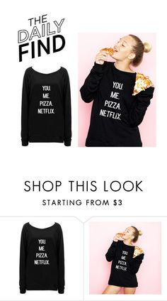 """The Daily Find: Emi Jay Sweatshirt"" by polyvore-editorial ❤ liked on Polyvore featuring DailyFind"