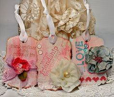 Tissue paper distressing and texture tutorial
