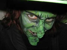 Delilah the Witch! - Witch makeup using simple prosthetics-this is a GREAT makeup job.  The shading is exactly what I was looking for.  phew!