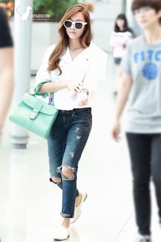kpop fashion #jessica jung #snsd