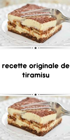 original tiramisu recipe a delicious dessert for your end of meal or snack. here is how to make the original tiramisu recipe easily. Easy Smoothie Recipes, Easy Cake Recipes, Sweet Recipes, Original Tiramisu Recipe, Original Recipe, Köstliche Desserts, Dessert Recipes, Kreative Desserts, Tiramisu Dessert