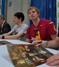 Merlin - Colin Morgan and Bradley James