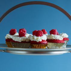 Red Velvet Cupcakes with Coconut | MyRecipes.com