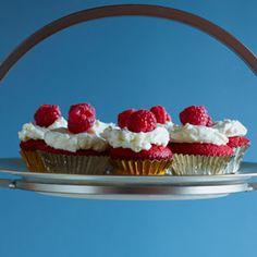 Red Velvet Cupcakes with Coconut | MyRecipes.com