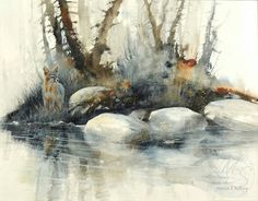 Amazing water colour painting...