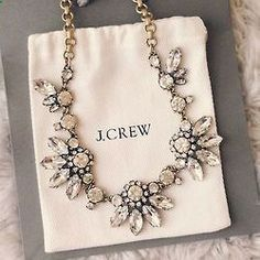 statement necklace. J.Crew