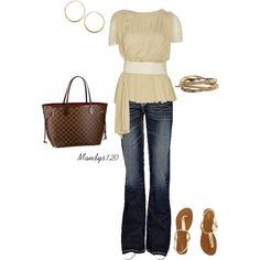 Casual, created by mandys120 on Polyvore