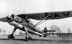 The Henschel Hs 126 was a German two-seat reconnaissance and observation aircraft of World War II that was derived from the Henschel Hs 122. The pilot was seated in a protected cockpit under the parasol wing and the gunner in an open rear cockpit. The prototype aircraft frame was that of a Hs 122A fitted with a Junkers engine. The Hs 126 was well received for its good short takeoff and low-speed characteristics which were needed at the time. It was put into service for a few years, but was…