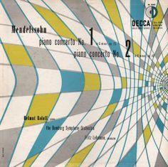 Mendelssohn album cover   design- Erik Nitsche
