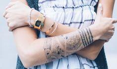 Alex's Closet - Blog mode et voyage - Paris | Montréal: tatouage by Starasian
