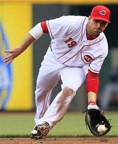 Cincinnati Reds First Baseman Joey Votto Fields
