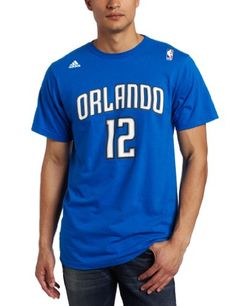 8a2430544 NBA Orlando Magic Dwight Howard Gametime Name Number TShirt Royal XXLarge     You can find out more details at the link of the image.
