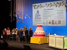 30e Fête du livre: les 8 Prix littéraires - Les 8 Prix littéraires de la 30e édition de la Fête du livre de Saint-Etienne ont été remis lors d'une soirée au Centre de congrès Fauriel, ce samedi 17 octobre. Branding, Saint, Centre, Creations, Birthday Cake, Desserts, Tailgate Desserts, Brand Management, Birthday Cakes