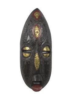 Be Faithful Ghanaian Mask by NOVICA