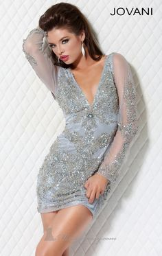Click through for more Gorgeous Sequined Cocktail #Dresses ~