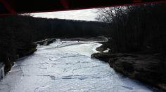 Sugar Creek From Narrows Bridge looking west