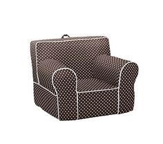 Sweet polka dot chair!
