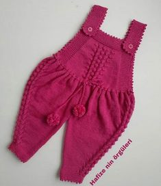 Soğuk Havaların En Vazgeçilmez Örgü Modelleri Knitting ProjectsCrochet For BeginnersCrochet BlanketCrochet Amigurumi Baby Knitting Patterns, Knitting Designs, Baby Patterns, Motif Kimono, Dress Design Patterns, Dress Designs, Kids Fashion Blog, Baby Overalls, Baby Pullover