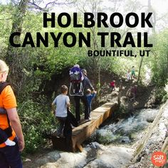 Things to Do in Utah with Kids. Hiking in Davis County Utah.
