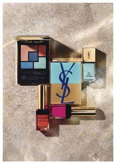 Yves Saint Laurent apuesta por el azul en su colección de maquillaje de verano