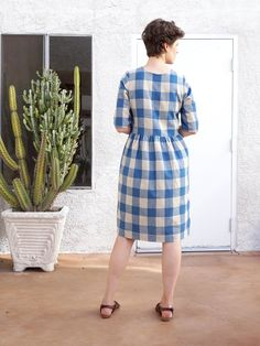DIY V-neck Shirtdress – A review of the Darling Ranges Dress pattern by  Megan a192818cc6f9