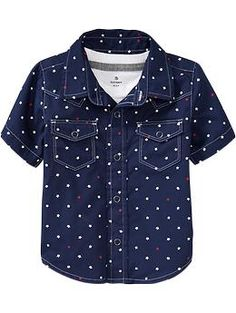 Star-Print Shirts for Baby | Old Navy