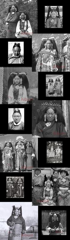 Old photographs from Tibet