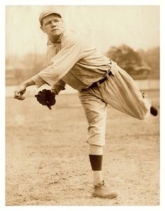 Babe Ruth Outpitches Walter Johnson in 13 Innings for 1-0 Win 98 Yrs Ago Today - Fenway Park, Boston - August 15, 1916