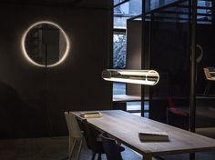 LED Borosilicate glass pendant lamp GUISE | Pendant lamp by Vibia