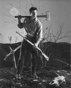 Bruce Campbell in the Evil Dead. One of my all time favorites!
