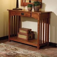 1000 images about furniture arts and crafts on pinterest for Arts and crafts sofa table