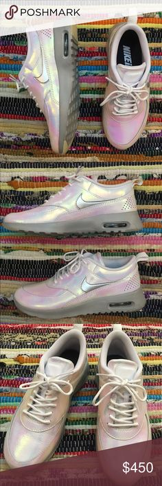 иιкє - NWOB Super Rare Holographic Air Maxes Or best offer!   ☞ ℓσωєѕт?  Prices are firm unless offer is reasonable  Bundle option is available!  ☞ мσ∂єℓ? I do not model my items, sorry! Comment with specific measurement requests Please allow 2-3 days for request fulfillments!  ☞ яєѕєяνє? тяα∂є?  I do not reserve or trade items!  Other questions welcome! ☺️ Nike Shoes Athletic Shoes
