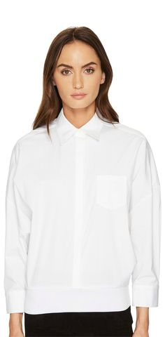 The desirable difference. Capture the elegant essential of the #NeilBarrett #Oversized #Button #Up #Shirt.  #blouses #shirts #tops #apparel #clothing