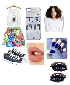 """""""rocking out at my favorite concert"""" by jem-bailey ❤ liked on Polyvore featuring beauty, Dolce&Gabbana, Converse and Charlotte Tilbury"""