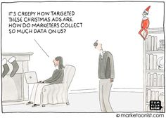 targeted holiday advertising- Tom Fishburne