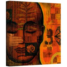ArtWall Gloria Rothrock 'All Seeing 1' Gallery-wrapped Canvas