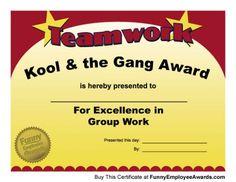 Funny Teacher Awards
