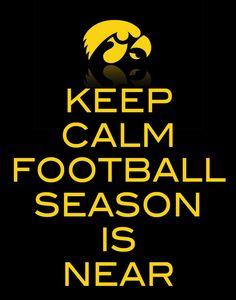 Keep Calm Football Season Sign