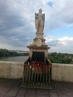 shrine of angel, Puente Romana, Cordoba