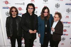 Tony and his bandmates at Grammy Awards 2014...