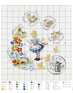 Fables & Fairy Tales to Cross Stitch 2018 — Yandex. Cross Stitch Fairy, Cross Stitch Books, Just Cross Stitch, Cross Stitch Animals, Cross Stitch Flowers, Blackwork, Cross Stitching, Cross Stitch Embroidery, Disney Cross Stitch Patterns