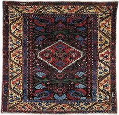 Floor covering handwoven in Kula, a town east of İzmir, in western Turkey. Kula prayer rugs were produced throughout the 19th century and into the 20th and have been favourites among collectors. Usually...