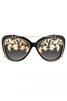 09999f6a2309 Matthew Williamson Black Cat Eye Sunglasses