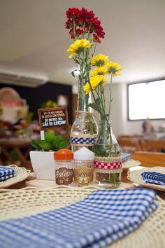 08Cha Bar Festa Boteco do Gobira serafina eventos detalhe decoração das mesas