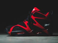 reebok kamikaze 1 red black available 1 Reebok Kamikaze 1   Black   Red | Arriving at Retailers