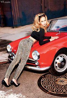 Jennifer Lawrence in Vanity Fair.