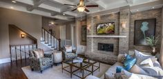 Kingsley 2 - Overlook at Woodstock Knoll by Ashton Woods - Zillow Interior Design Elements, New Home Communities, Atlanta Homes, Built In Cabinets, New House Plans, New Homes For Sale, Plan Design, House In The Woods, Built Ins