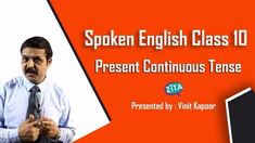 Spoken English Class Present Continuous Tense Present Continuous Tense, English For Beginners, Foreign Language, Language Arts, Thing 1, Art Activities For Kids, English Class, Anchor Charts, Lesson Plans