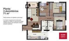 Rossi Mais Parque da Lagoa - Apartamentos de 2 e 3 dormitórios em Barueri